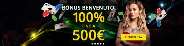 Casino bonus non AAMS (ADM)